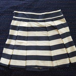 ASOS Pleated striped skirt